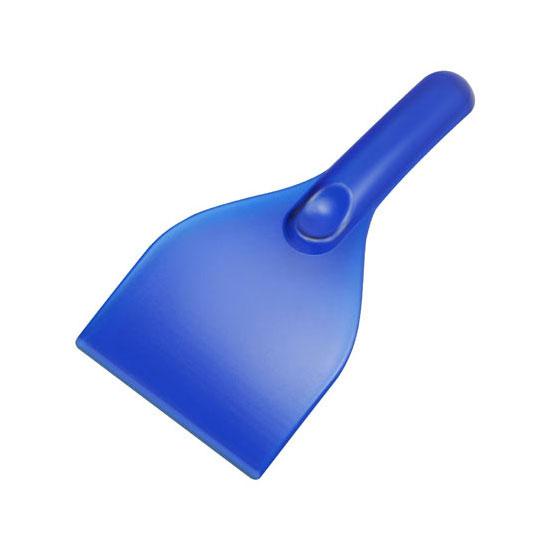 gładka skrobaczka do szyb z rączką niebieska