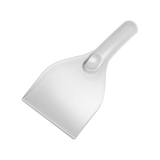 gładka skrobaczka do szyb z rączką biała