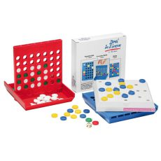 gadżet dla dzieci gra 3 w 1 z żetonami różne kolory