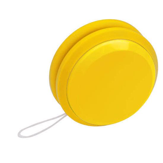 gadżet dla dzieci plastikowe jojo żółty