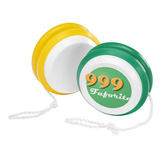 gadżet dla dzieci dwukolorowe plastikowe jojo różne opcje