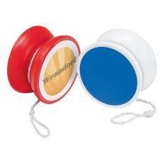 gadżet dla dzieci dwukolorowe plastikowe jojo dwie opcje