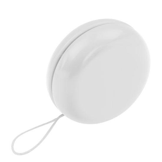 gadżet dla dzieci białe plastikowe jojo