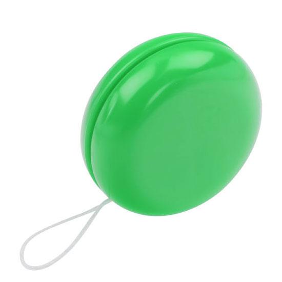gadżet dla dzieci zielone plastikowe jojo