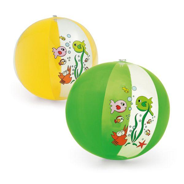 piłka dmuchana plażowa dostępna w 2 kolorach